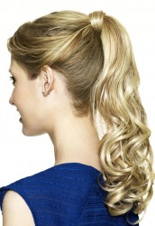 Sleek wrap around ponytail Scarlet